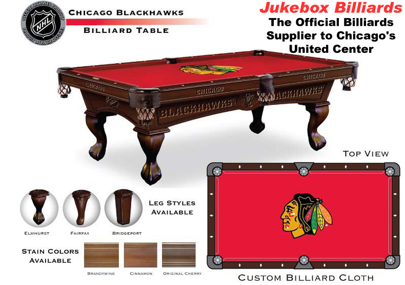 Beau Chicago Blackhawks Shuffleboard And Foosball Games Also Available!